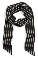BP Women's Pinstripe Skinny Scarf
