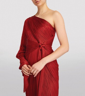 Maria Lucia Hohan One-Shoulder Seden Gown