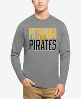 '47 Men's Pittsburgh Pirates Power Alley Long-Sleeve T-Shirt