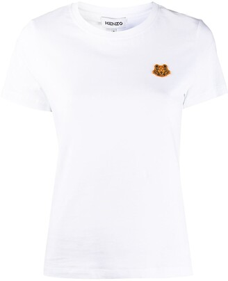 Kenzo Tiger-patch T-shirt
