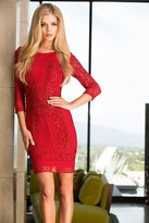 Scala 48377 Dress In Red