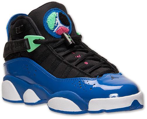 Nike Girls' Grade School Jordan 6 Rings Basketball Shoes