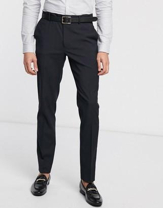ASOS DESIGN skinny suit trousers in navy