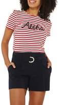 Dorothy Perkins Red Stripes Aloha Motif T-Shirt
