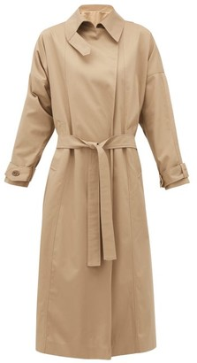 Preen by Thornton Bregazzi Savannah Twill Trench Coat - Beige Multi