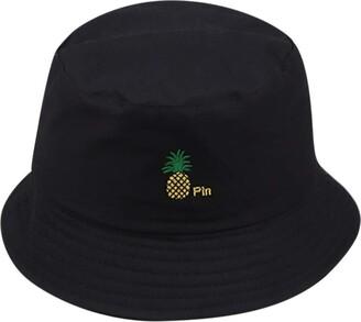 SSMENG Unisex Unisex Fashion Embroidered Reversible Bucket Sun Hat Women Floppy Wide Brim Summer Beach Fisherman's Caps