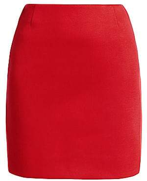 Akris Punto Women's Bonded Jersey Two-Tone Pencil Skirt