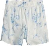 Donna Nicole Printed Boxer Shorts - Cotton Poplin (For Women)