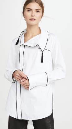 Monse Side Collar Tassels Shirt