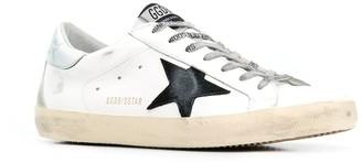 Golden Goose Superstar Leather Upper Suede Star Nabuk Heel