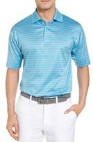 Bobby Jones Men's Boardwalk Stripe Golf Polo