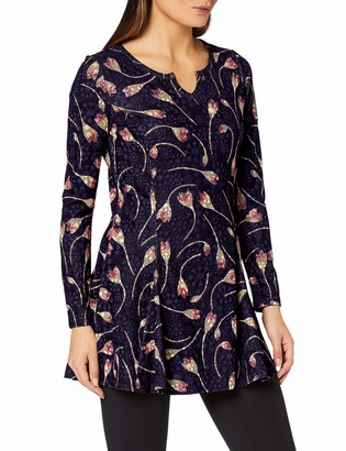 Joe Browns Women's Christmas Reverse Seam Tunic Shirt