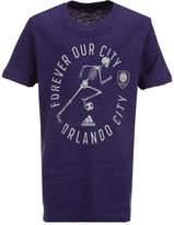 adidas Orlando City Sc To The Grave T-Shirt, Big Boys (8-20)