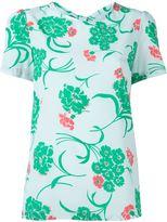P.A.R.O.S.H. 'Susan' T-shirt - women - Silk/Spandex/Elastane - S