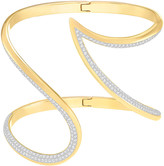 Swarovski Groove Bangle, White