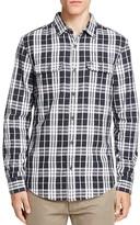 Original Penguin Slub Plaid Slim Fit Button Down Shirt