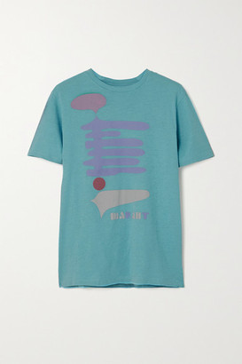 Etoile Isabel Marant Zewel Printed Cotton-jersey T-shirt