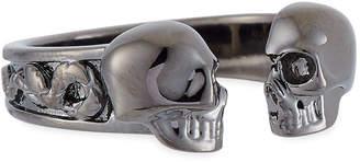 Alexander McQueen Men's Decorative Skull Ring, Size 10