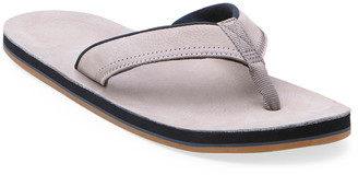 Hari Men's Pier Leather Thong Sandals