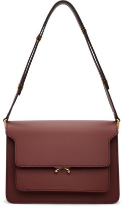 Marni Red Medium Trunk Bag