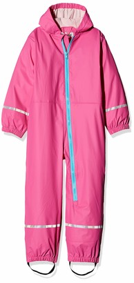 Playshoes Baby Girls' Regen-Overall Rain Trousers