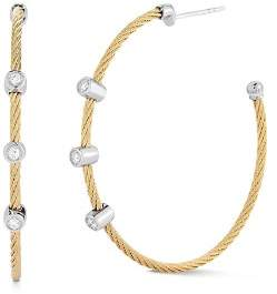 Alor Diamond Hoop Earrings