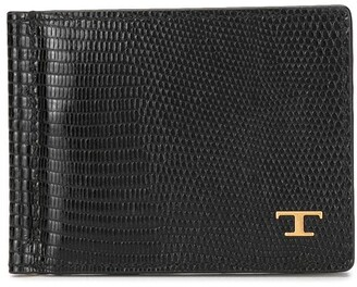Tod's Logo Leather Wallet