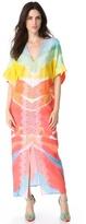 Catherine Malandrino Embroidered Caftan Dress