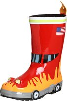 Kidorable Little Boys' Fireman Rain Boot