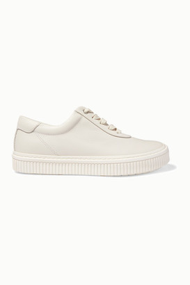 both Leather Sneakers - White