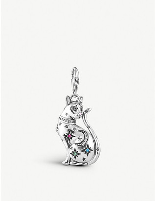 Thomas Sabo Mystical Cat sterling silver charm