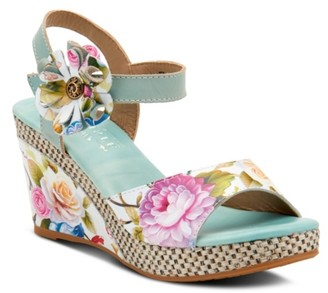 L'artiste By Spring Step Roesia Wedge Sandal