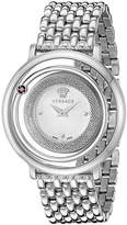 Versace Women's VQV070015 Venus Analog Display Swiss Quartz Silver Watch