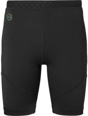 Under Armour Ua Rush Run Stretch Tech-Jersey Compression Shorts