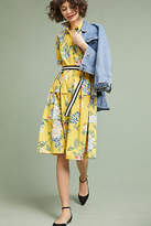 Donna Morgan Sporty Floral Shirtdress