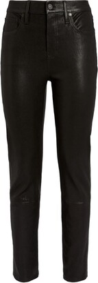 Citizens of Humanity Leather Harlow Mid-Rise Skinny Jeans