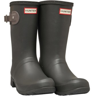 Hunter Womens Tour Short Wellington Boots Tarn/Seep