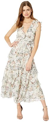 Bardot Nelly Floral Dress (Ivory Floral) Women's Dress