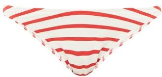 Solid & Striped The Vanessa Striped Bikini Briefs - Womens - Red Stripe
