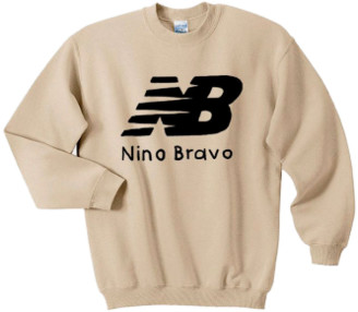 La Mandanga - Nino Bravo Jumper - S - White/Black/Wood