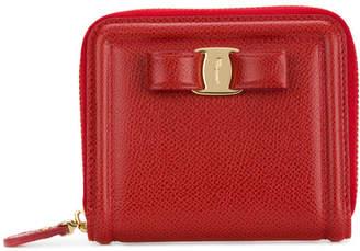 Salvatore Ferragamo Vara Leather Wallet