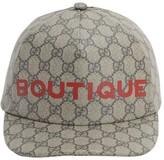 Gucci Gg Supreme Cotton Baseball Cap