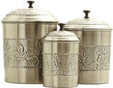 Old Dutch International 3-pc. Antique Embossed Canister Set