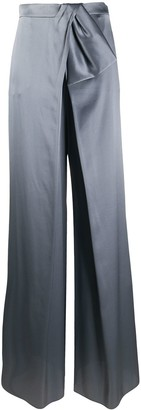 Alberta Ferretti Tie-Waist Trousers