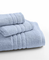 "Lenox Bath Towels, Platinum Solid 18"" x 30"" Hand Towel"