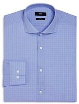 Boss Overchecked Slim Fit Dress Shirt