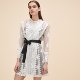 Maje Lace dress with belt