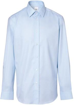 Burberry Long-Sleeved Button-Up Shirt
