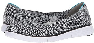 Propet TravelFit Flex (Black/White) Women's Shoes
