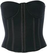 Tom Ford zipped corset - women - Silk/Spandex/Elastane - 38